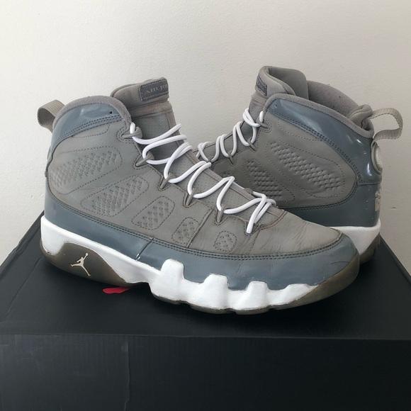 separation shoes fb5f5 43b1f Jordan Other - Nike Air Jordan 9 Retro Cool Grey 2012